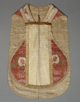 Chasuble of three brocades