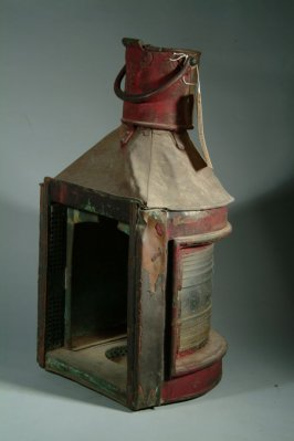 """Port side light from the """"S.S. Edith"""""""