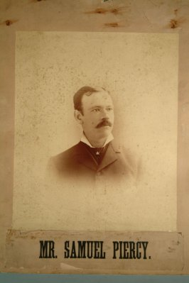 Samuel Piercy (head and shoulders) (framed)