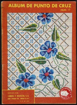 Album de Punta de Cruz (Embroidery Pattern Book)