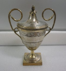 Sugar urn and cover