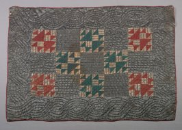"""Baby's quilt: """"Double X"""" pattern"""