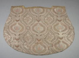 Panel green and gold floral brocade