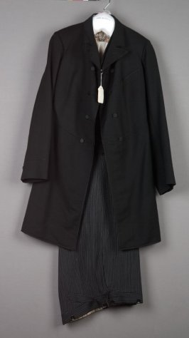 Man's suit; coat, vest, and trousers