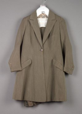Riding habit (jacket, breeches, and skirt)