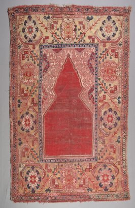 """Transylvanian"" prayer rug"