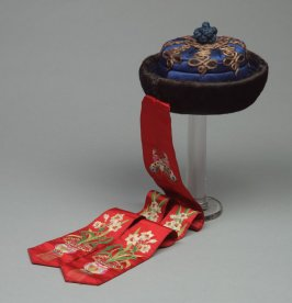 Winter Hat of a Manchu Noblewoman