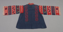 Woman's blouse: from set of blouse and apron (with a: skirt)