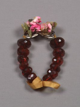 Buckled beads from German peasant costume (61.24.1 - 61.24.12)