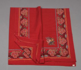 Kerchief from Woman's peasant ensemble