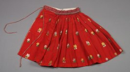 Skirt from Woman's peasant ensemble