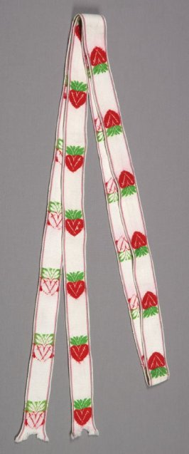 Sash from Woman's peasant ensemble