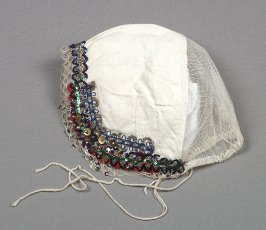 Woman's peasant ensemble: inner cap