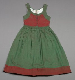 Dirndl or Jumper red and green