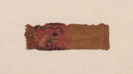 Fragment tab of a garment
