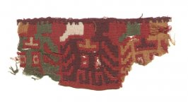 Small Nasca(?) tapestry fragment