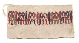 Fragment from Inca Ceremonial Cloth