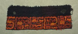 Fragment of a garment border