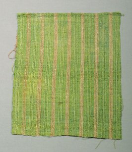 Fragment: green with pink stripes