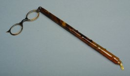 Lorgnette with lens missing