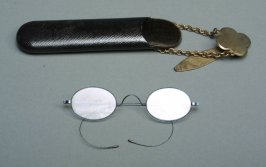Eyeglass case and spectacles