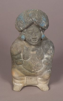 Large Dwarf with Woven Headdress