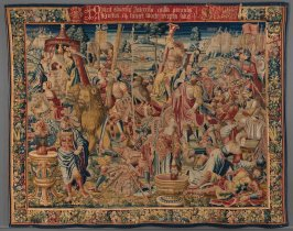 Triumph of Fortitude, from The Triumph of the Seven Virtues series