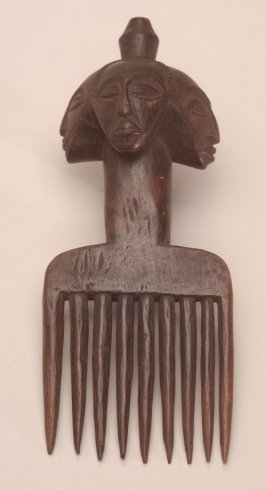 Comb with Four Heads