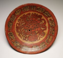 Plate with supernatural fish