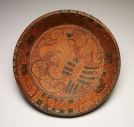 Plate with Bird