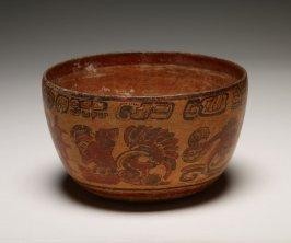 Bowl with images of the Underworld