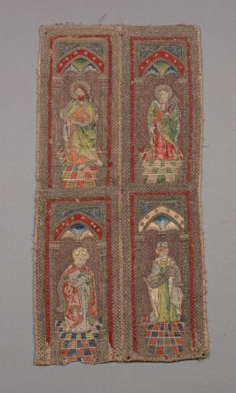 Embroidered ecclesiastical panel
