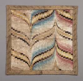 Chalice veil : bargello embroidery
