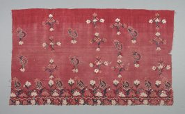 Embroidered cotton cover