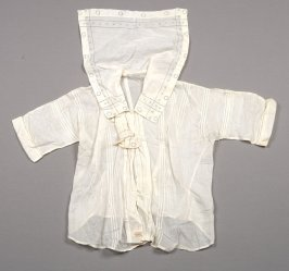Blouse with middy collar