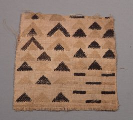 Skirt panel or burial cloth