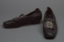 Brogues (part of man's highlander ensemble)