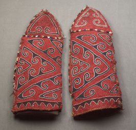Pair of tent pole covers (ok bash)