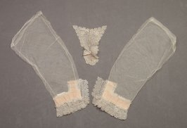 Jabot and sleeves