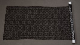 Length of black lace