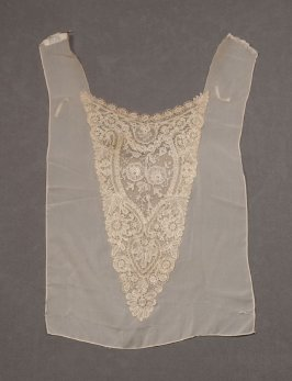 Lace stomacher or dress front