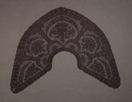 Collar black lace(bertha)