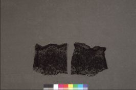 Pair of lace cuffs