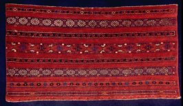 """""""Red"""" large storage bag (kyzyl juval), face"""