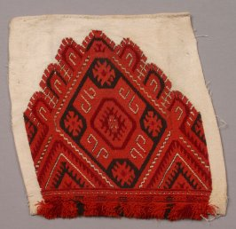 Embroidered square