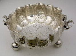 Two-handled commemorative bowl