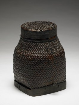 Rice Storage Basket ( kamuwan) with Lid