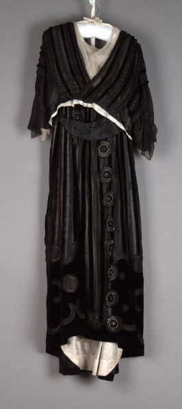 Evening gown(bodice and skirt)