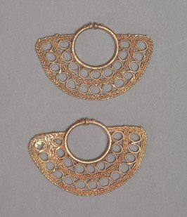 One pair of earrings