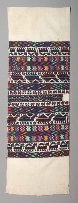 One-half of a woman's blouse (huipil)
